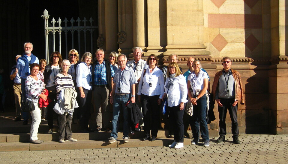 FWG Dombesichtigung in Speyer